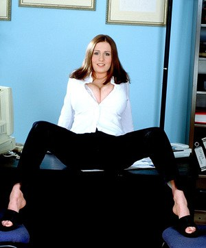 Free Office MILF Porn at Housewife Pics